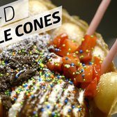 3-D Waffle Cones Are The Best Way To Eat Ice Cream - Eater's Afternoon Snack
