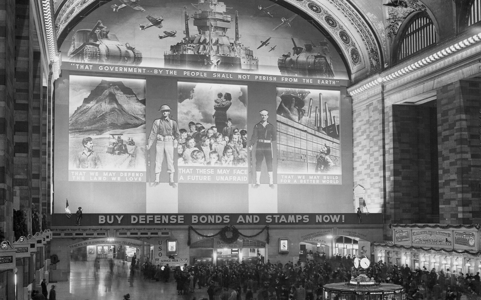 Vintage Photographs Of Grand Central Terminal Give A Peek