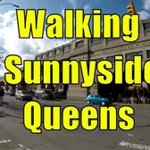 ⁴ᴷ Walking Tour of Sunnyside, Queens, NYC (GPS Overlay)