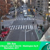 NYC Installs 25 Lane Miles of Protected Bike Lanes in 2017