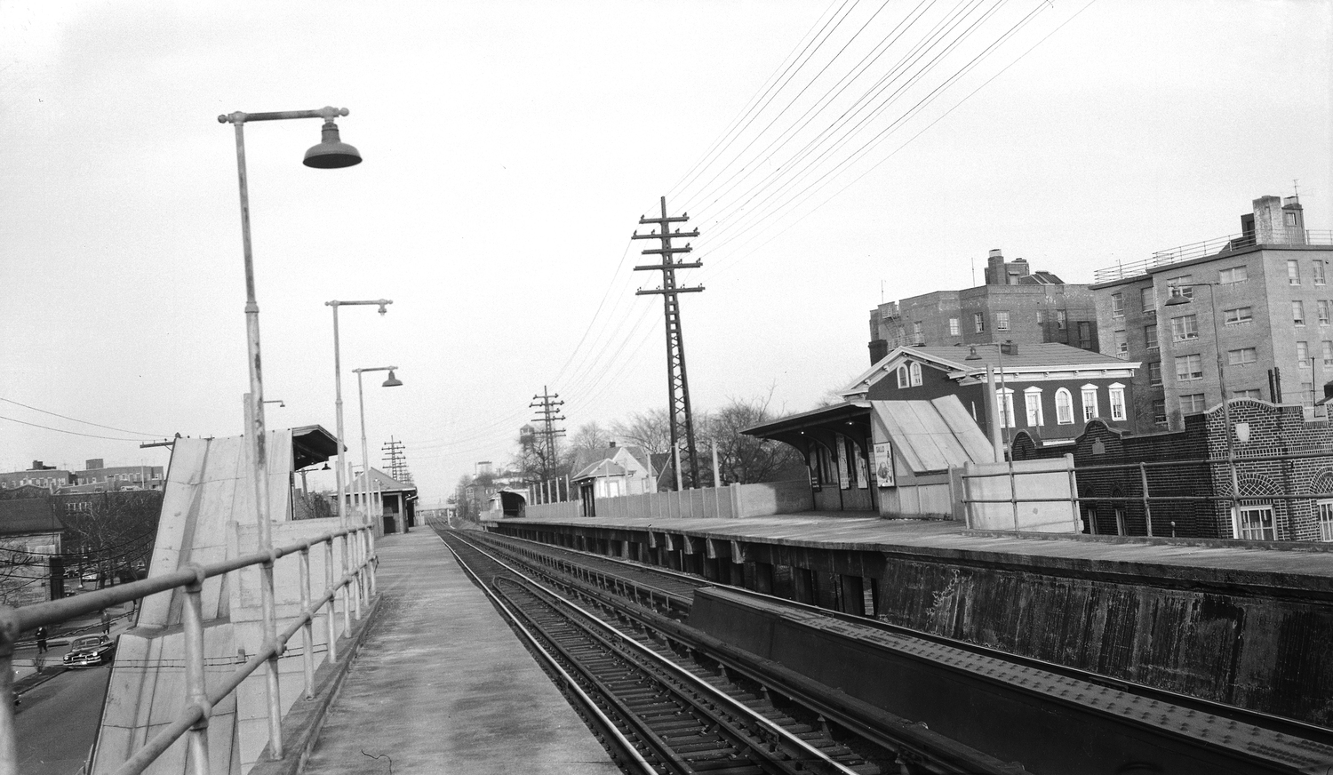 LIRR 12 | Elmhurst NY LIRR Station, looking East