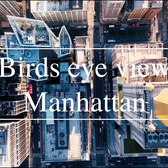 Birds Eye View Manhattan Drone