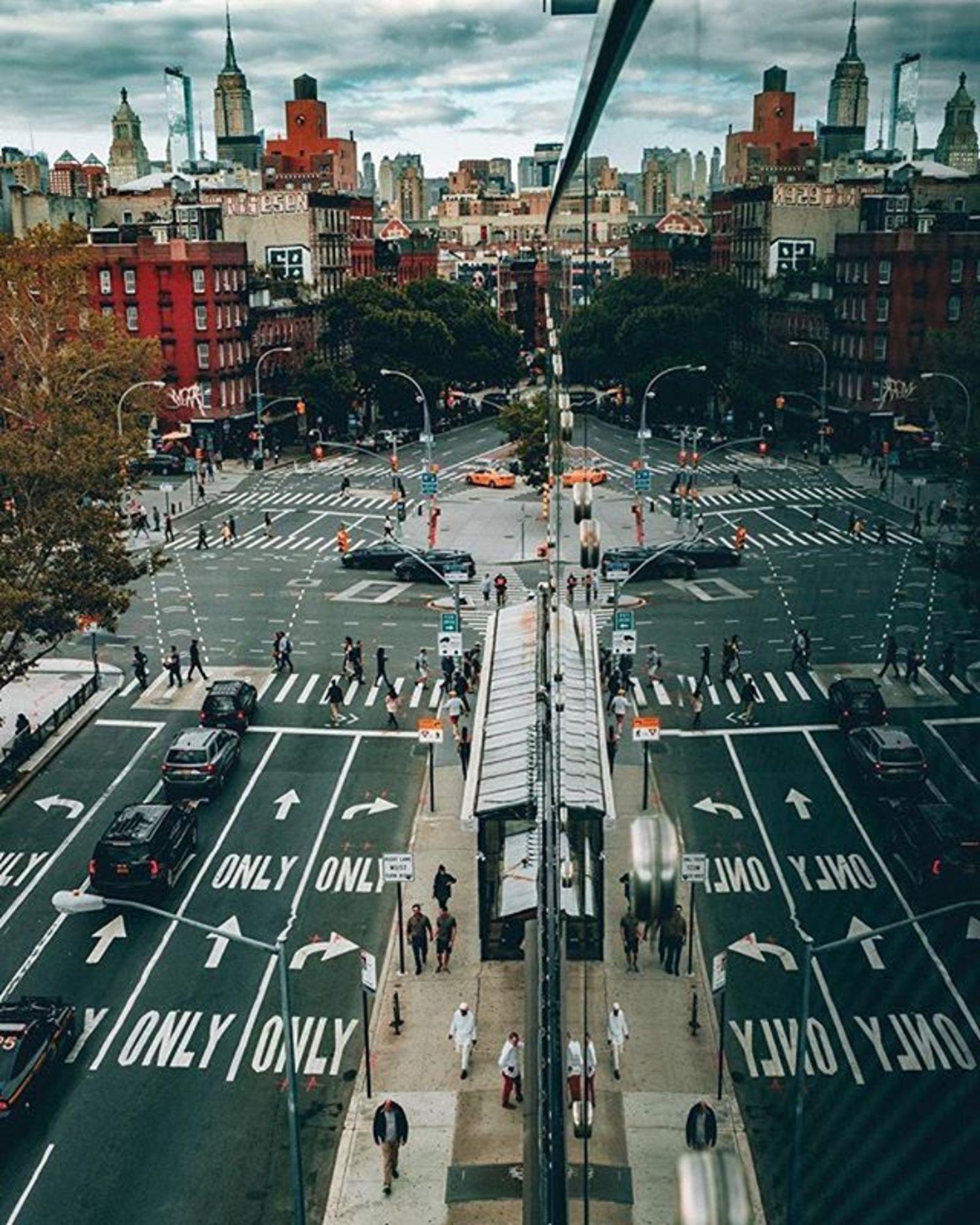 Lower East Side, Manhattan. Photo via @willnichols #viewingnyc #newyorkcity #newyork