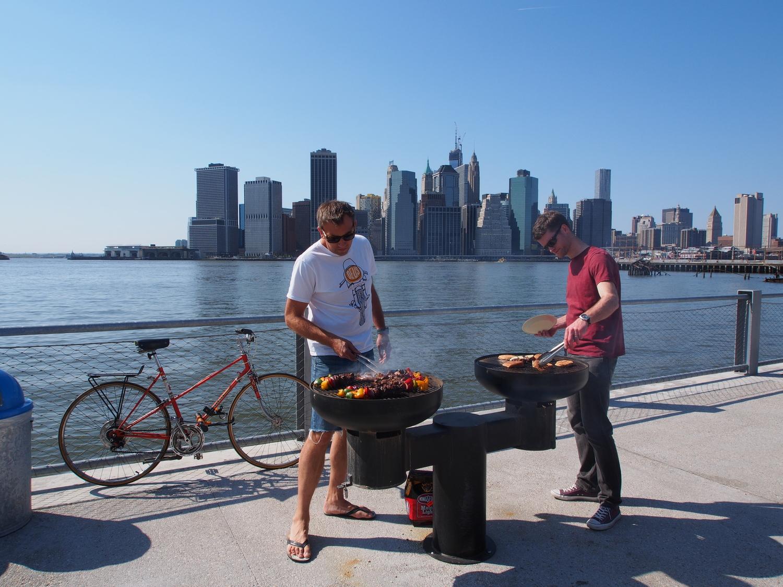 Brooklyn Bridge Park BBQ