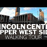 ⁴ᴷ⁶⁰ Walking NYC: Lincoln Center to Upper West Side (March 21, 2020)
