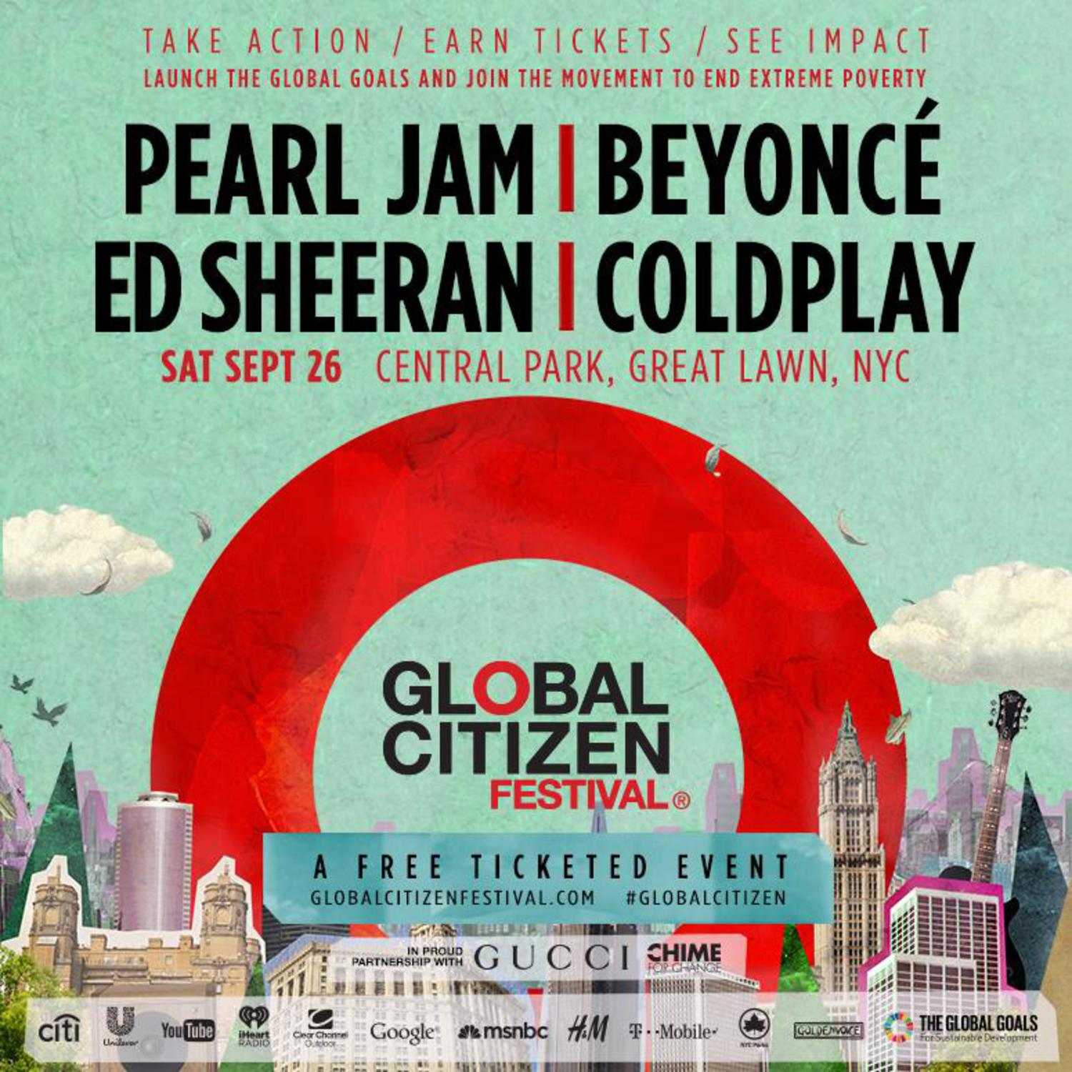 Global Citizen Festival 2015
