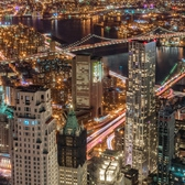 New York City Lit Up | From the One World Trade Center Observatory