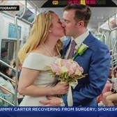 Couple Gets Married On The Q Train