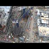 Time lapse video: Building the Oculus at the World Trade Center Transportation Hub