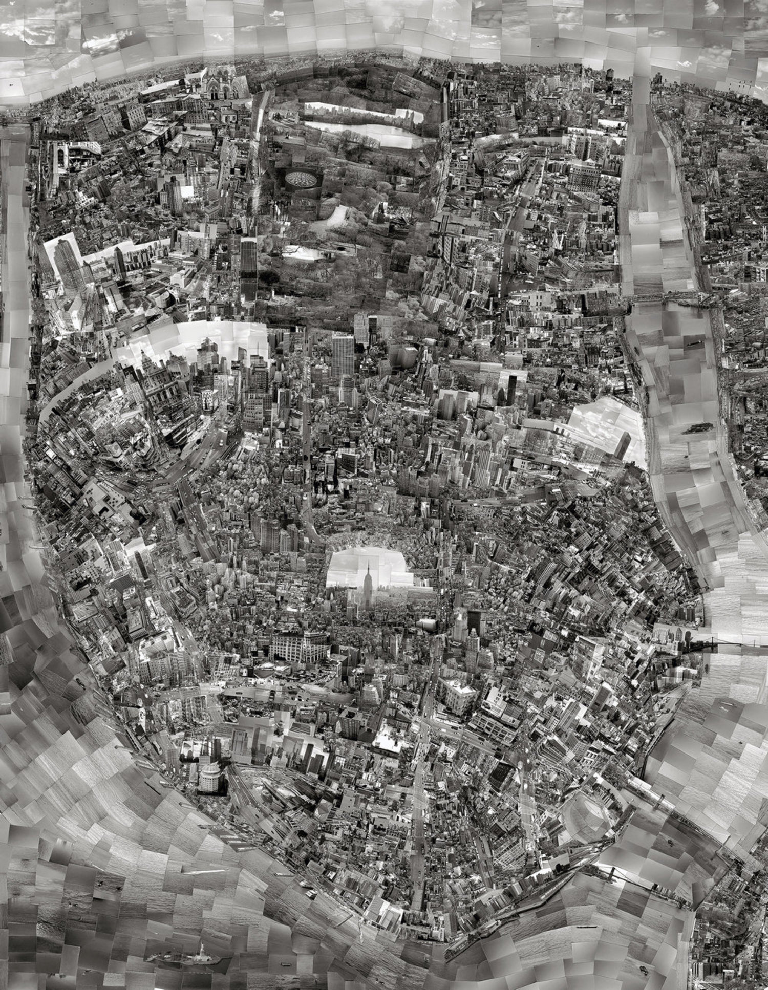 Diorama Map, New York, February-July 2006