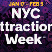 NYC Attractions Week, Jan 17 - Feb 5, 2017
