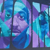 """I Just Want to Come Home,"" a mural addressing the relationship between police and young men of color."