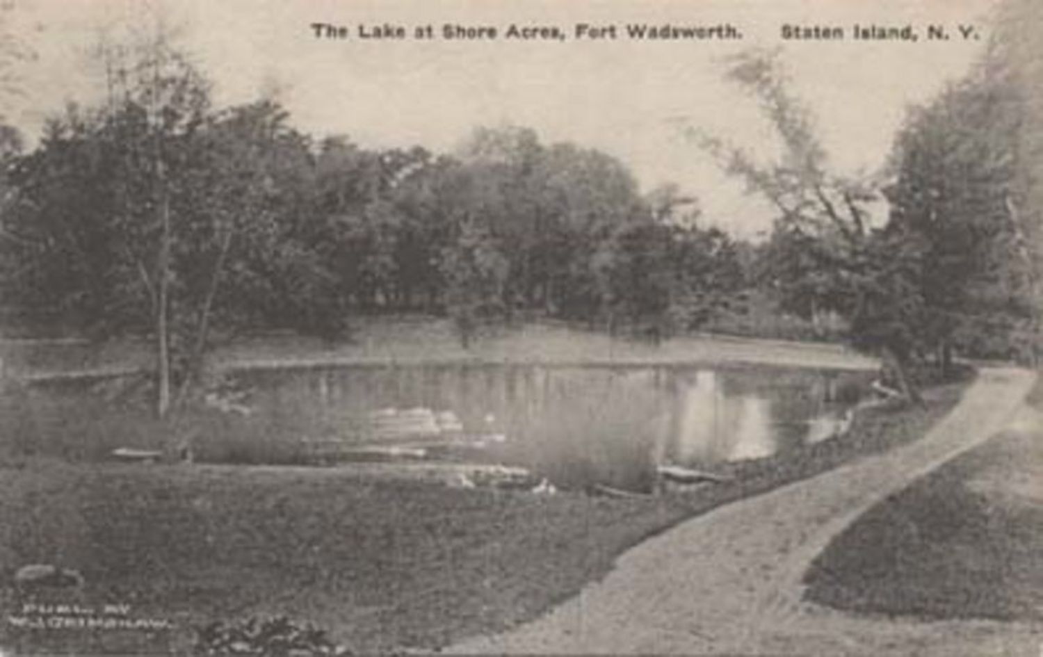 Postcard of Fort Wadsworth.