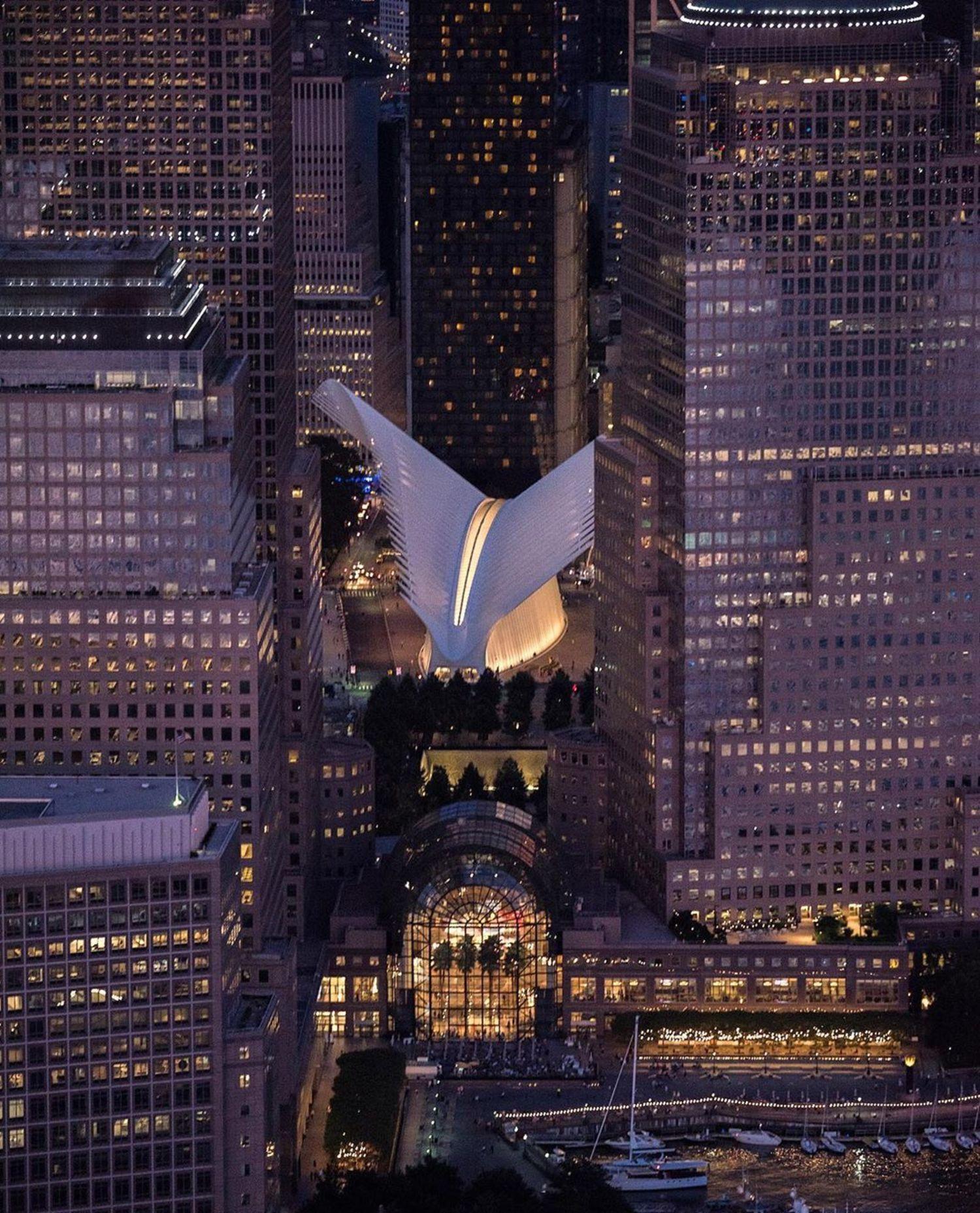 World Trade Center Oculus, Lower Manhattan