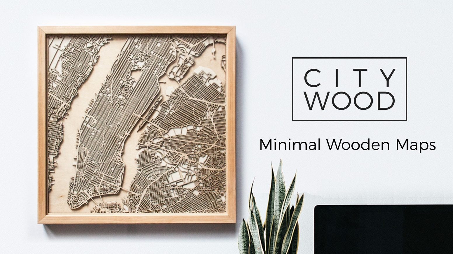 Check Out This Awesome Laser Cut Wood Map Of New York City