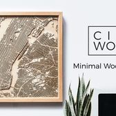 CityWood - Minimal 3D Wooden Maps