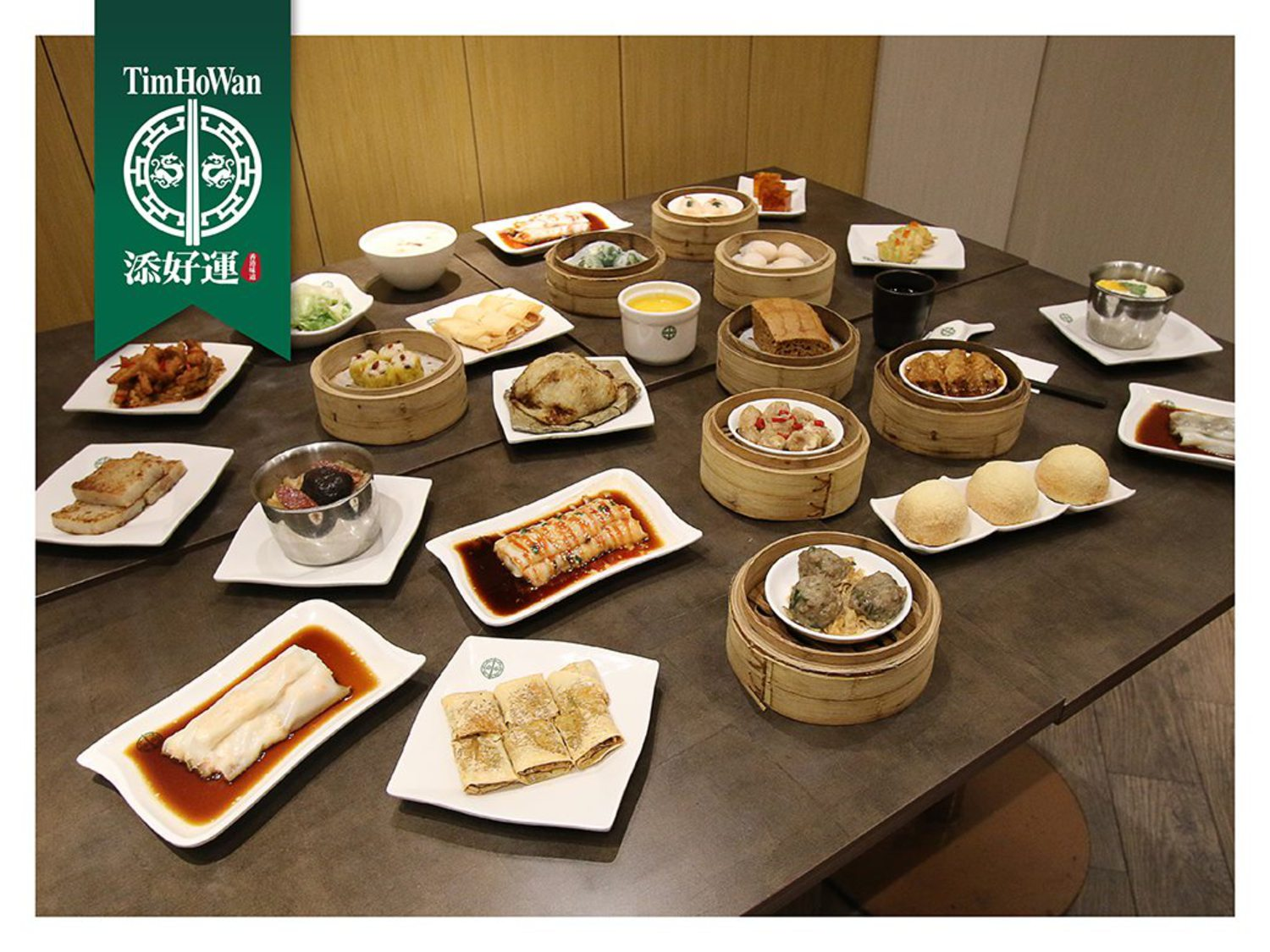 Feast your eyes on the wholesome spread at Tim Ho Wan. Feeling Hungry Yet?