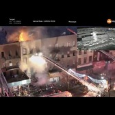 FDNY Drone Deployed in Brooklyn 4-alarm fire 12-07-2017