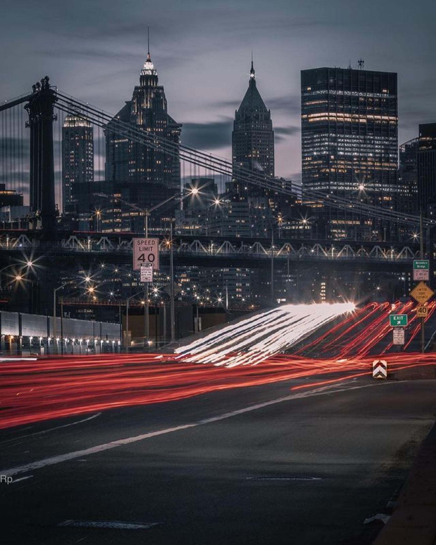 Franklin D. Roosevelt East River Drive, Lower East side, Manhattan