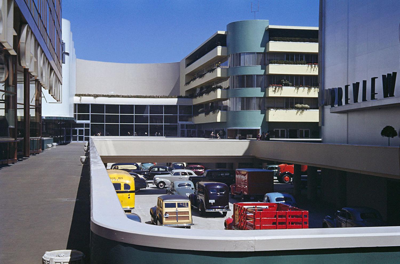 The General Motors Pavilion.
