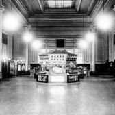 Staten Island Ferry terminal Whitehall Street, upper-level waiting room on October 24, 1923. (Staten Island Advance file  photo)
