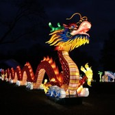 NYC Winter Lantern Festival lights up Staten Island at opening night