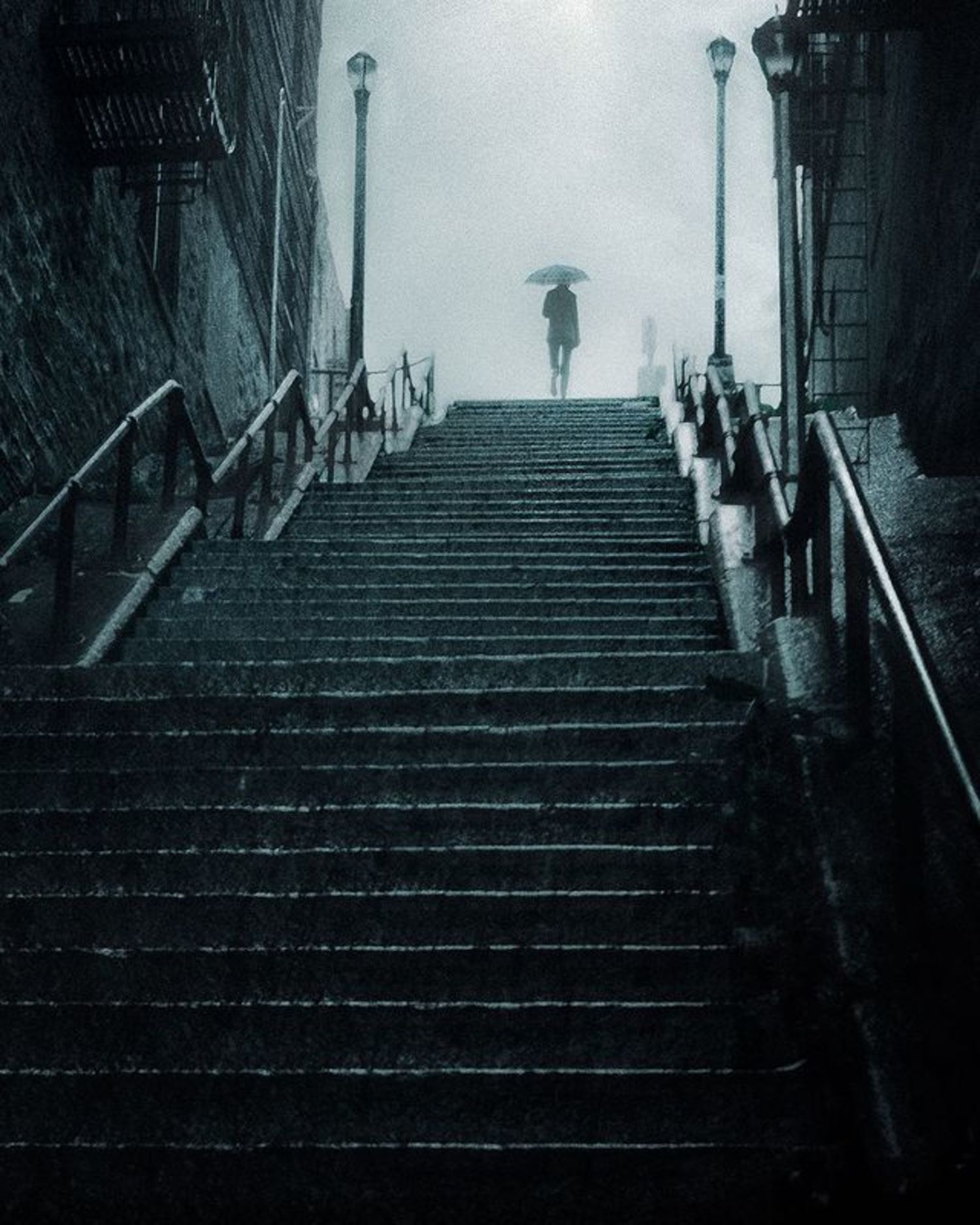 """Joker Stairs"", Highbridge, The Bronx, New York"