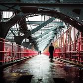 Williamsburg Bridge. New York City… (at New York, New York)