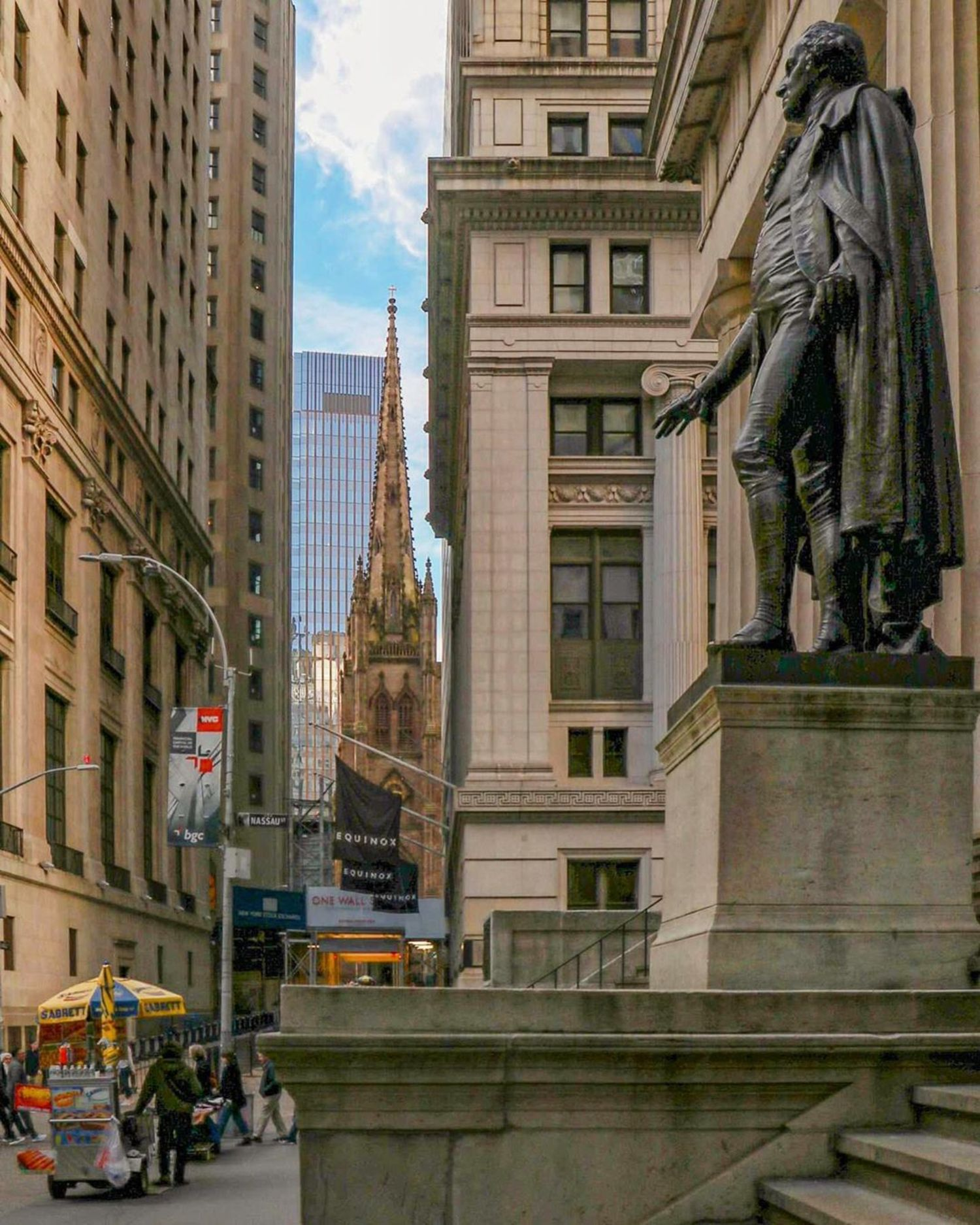Wall Street, Financial District, Manhattan