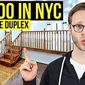 Inside a $5300 NYC Duplex Apartment | Manhattan New York City
