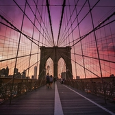 "Brooklyn Bridge Sunset - New York City | Sunset as seen while standing on the Brooklyn Bridge facing towards the New York City skyline.   (last night! taken with my Sony A7RII)  What a sunset!   ----    Tons of information about my <a href=""http://www.amazon.com/gp/product/1440339589/ref=as_li_tl?ie=UTF8&amp;camp=1789&amp;creative=9325&amp;creativeASIN=1440339589&amp;linkCode=as2&amp;tag=nyththle0e-20&amp;linkId=ER6GYT5FRYNMEPLF"" rel=""nofollow"">New York photography book</a> with sample pages (including where to order and what stores are carrying it) here:  <a href=""http://nythroughthelens.com/post/92873566010/ny-through-the-lens-the-book-i-am-super"" rel=""nofollow"">NY Through The Lens: A New York Coffee Table Book</a> ---   View my New York City photography at my website <a href=""http://nythroughthelens.com/"" rel=""nofollow"">NY Through The Lens</a>.  View my Travel photography at my travel blog: <a href=""http://travelinglens.me/"" rel=""nofollow"">Traveling Lens</a>.  Interested in my work and have questions about PR and media? Check out my:  <a href=""http://nythroughthelens.com/about"" rel=""nofollow"">About Page</a> 