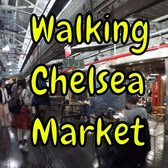⁴ᴷ Walking Tour of Chelsea Market in Manhattan, NYC (at 10th Avenue & 15th Street)