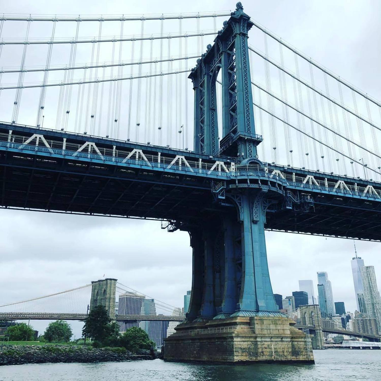 Manhattan Bridge, New York, New York. Photo via @coneybeare #viewingn UC #newyork #newyorkcity #nyc #manhattanbridge