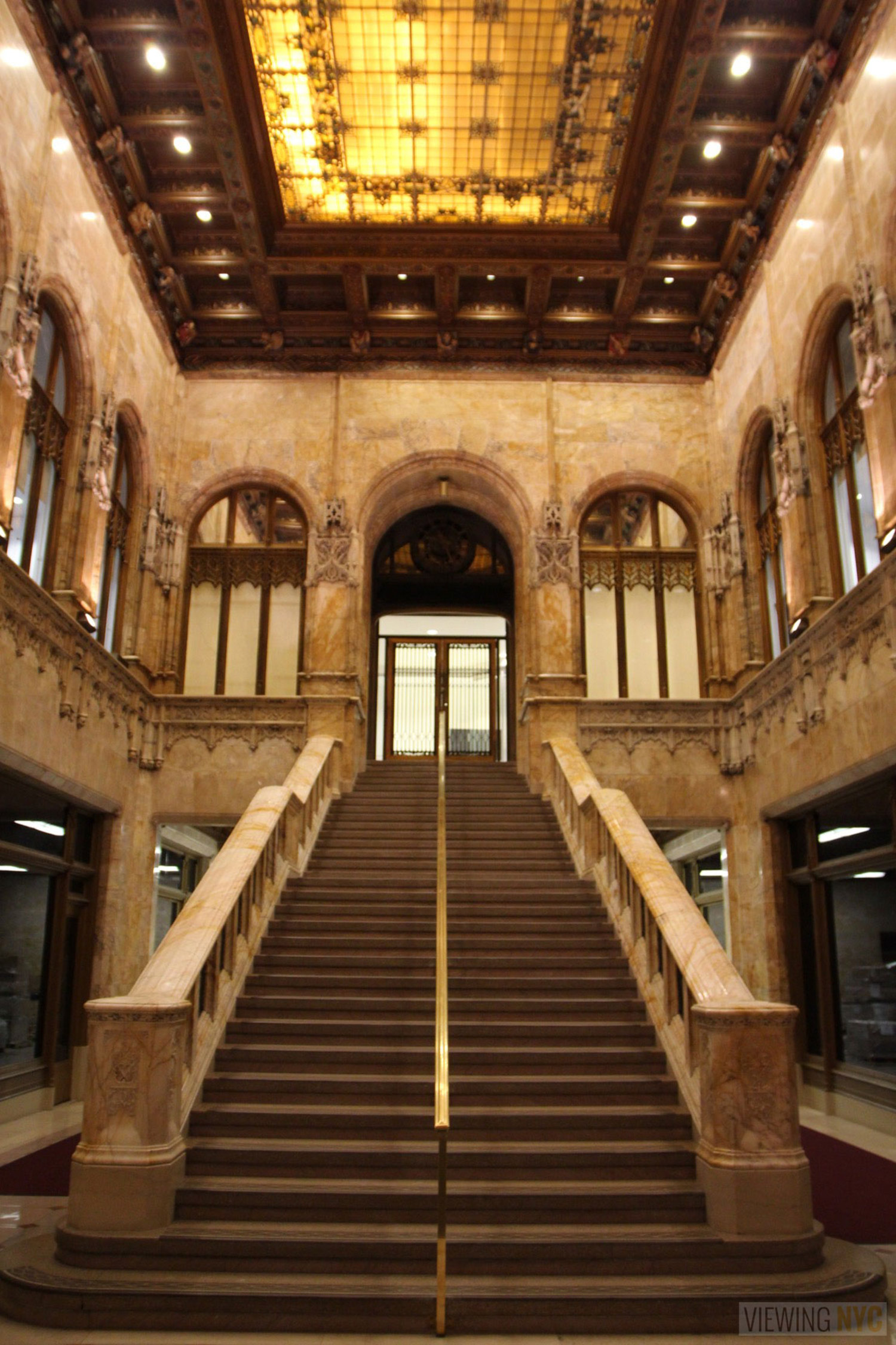 Woolworth Building Lobby and Basement Tour 111