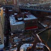 Manhattan Bridge Drone Selfie