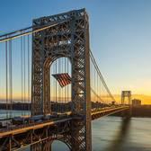 George Washington Bridge, New York, New York.