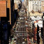 1st Avenue, Upper East Side. Photographed from the Roosevelt Island Tramway