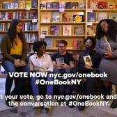Vote now for One Book, One New York 2019 #OneBookNY