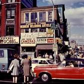 Delancey Street at Essex Street, 1969.