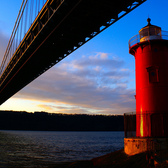 Little Red Lighthouse Under The GWB.
