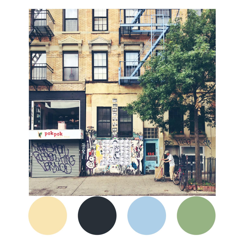 Rivington Street inspiration