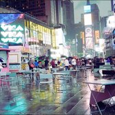 Times Square on rainy night. 3D audio. NYC Ambient scenes. G85 12-60mm f3.5