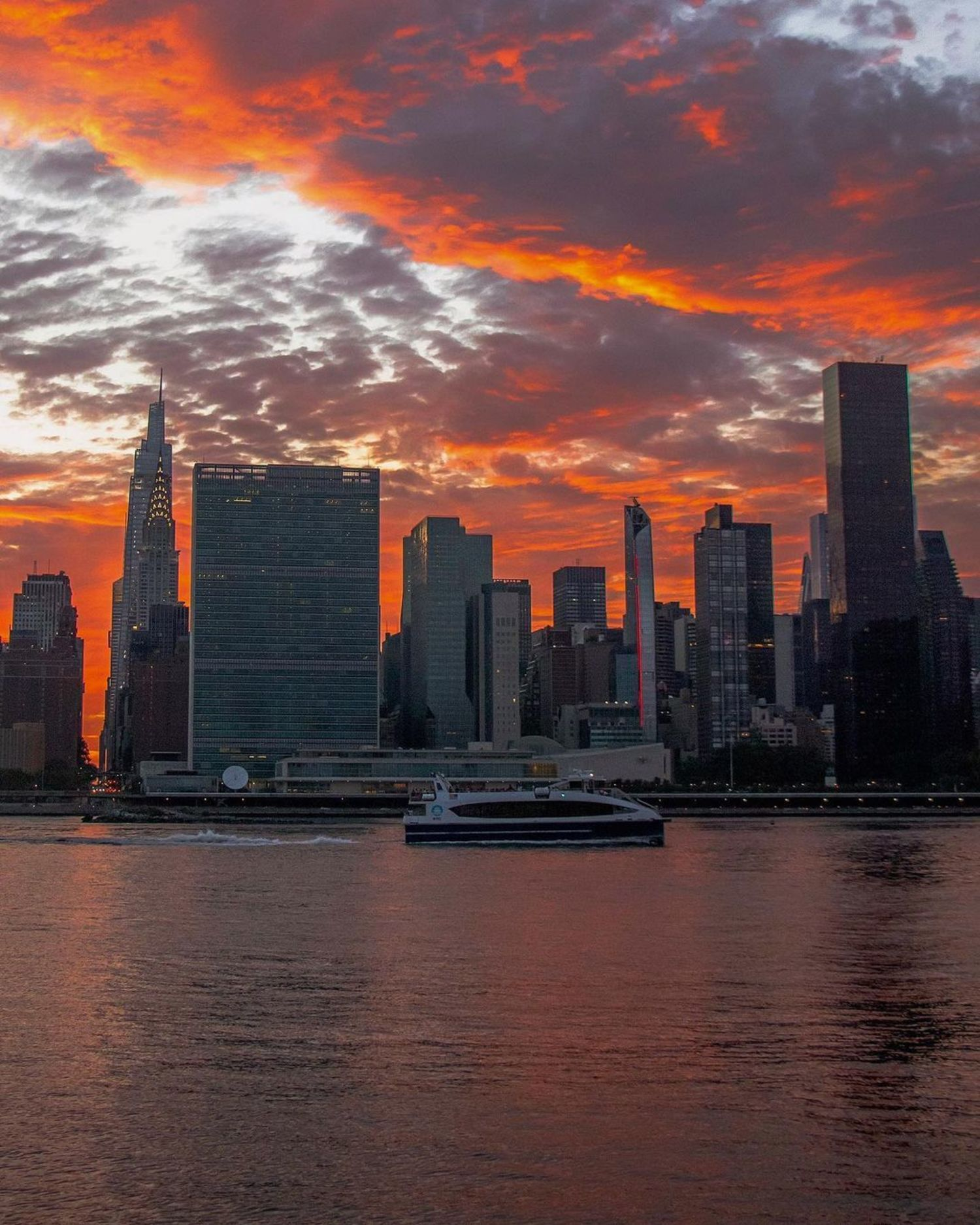 East River and Midtown Skyline, Manhattan