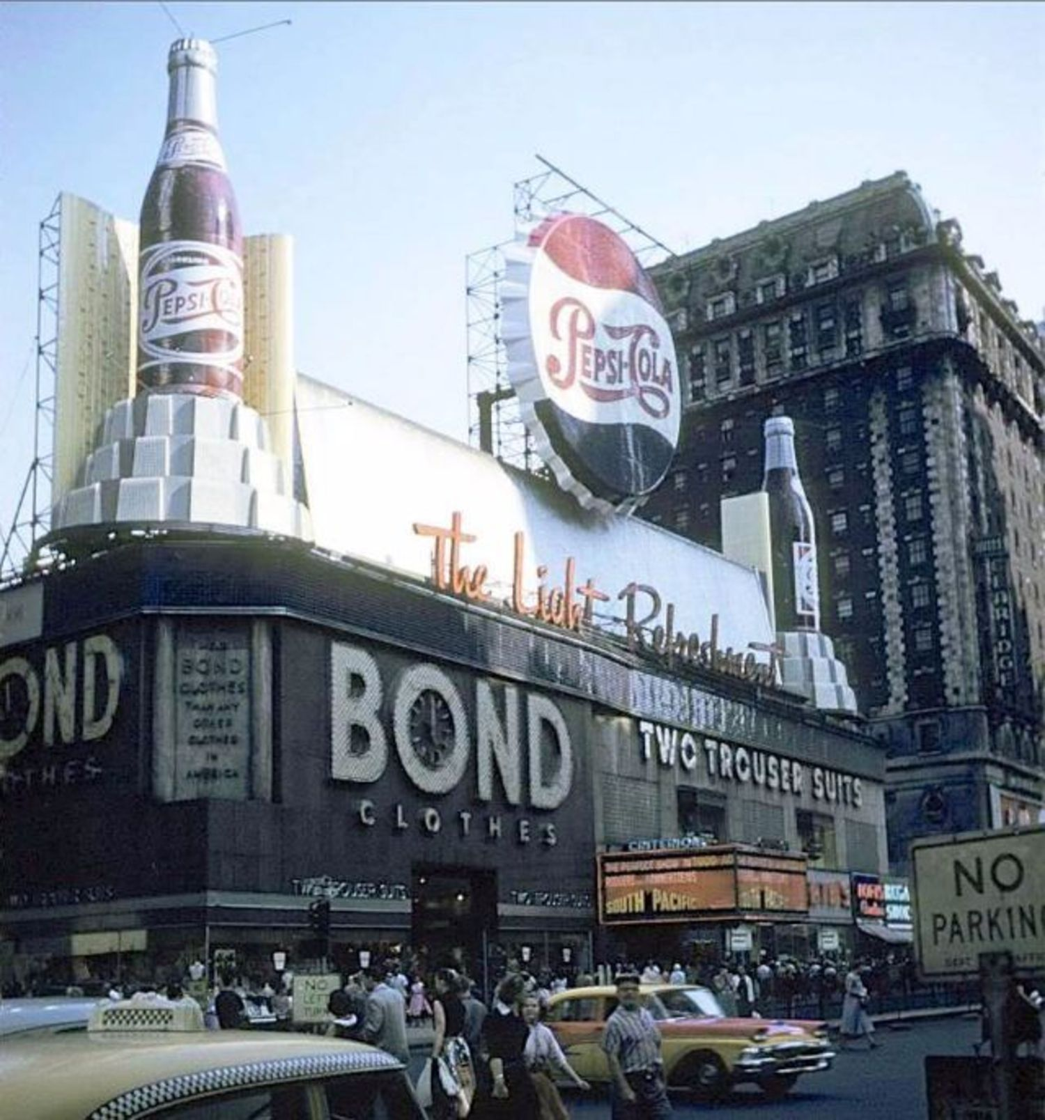 Times Square,1958