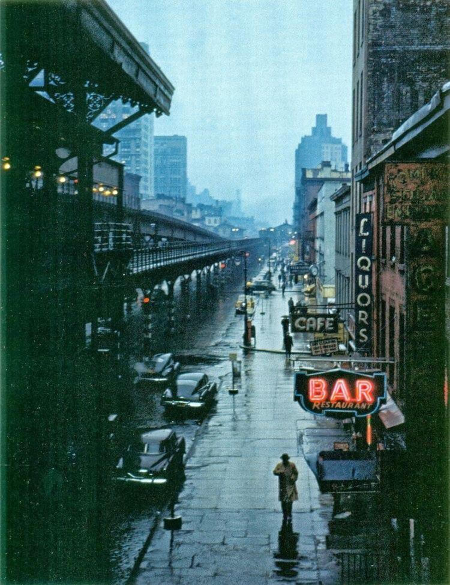 Third Avenue circa 1951