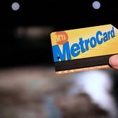 MTA Metrocard | MTA Metrocard, with the Panorama of New York City in the Queens Museum of Art in the background.