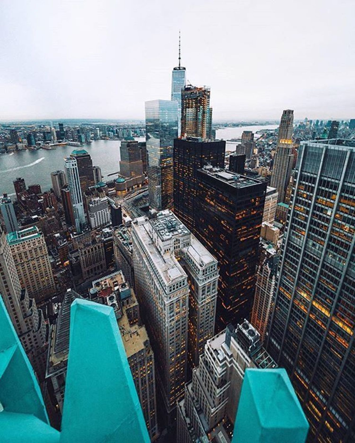 New York, New York. Photo via @svvvk #viewingnyc #newyorkcity #newyork