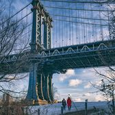 Manhattan Bridge, Brooklyn Bridge Park, Dumbo, Brooklyn