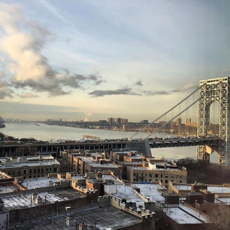 Photo via @eyesearsviewsnyc . George Washington Bridge . #viewingnyc