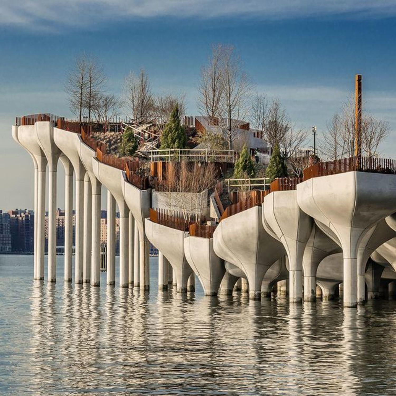 """Little Island"", Hudson River Park, Meatpacking District, Manhattan"